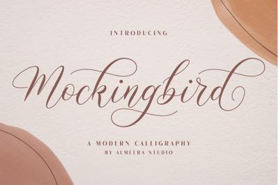 Mockingbird | Modern Calligraphy