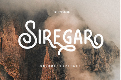 Siregar Vintage Typeface