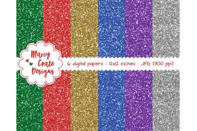 Holiday Glitter Sheets / Backgrounds