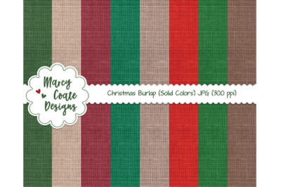 Christmas Burlap, Linen Background Textures