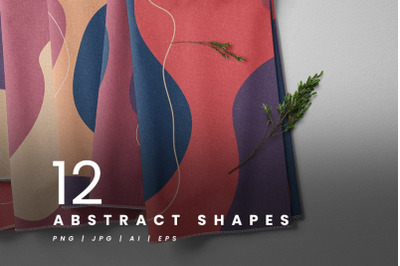 12 Abstract Shapes