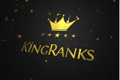 King Ranks Logo Template