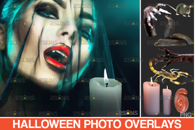 Halloween clipart & Halloween png. Photoshop overlay