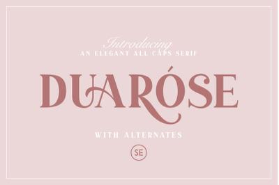 Duarose - An Elegant Serif