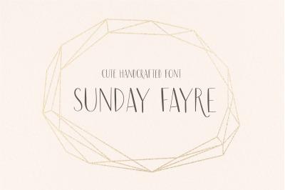 Sunday Fayre