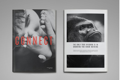 Connect Magazine Template