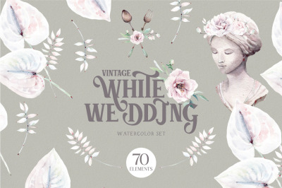 VINTAGE WHITE WEDDING