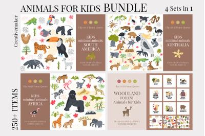 Animals for kids BUNDLE
