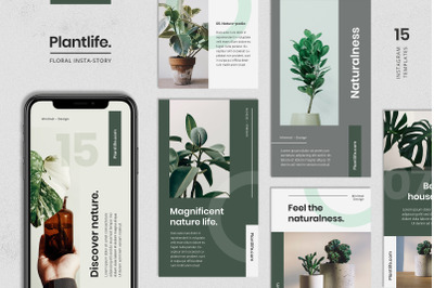 Floral Instagram Stories Template