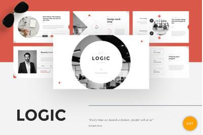 Logic - Pitch Deck Google Slides Template