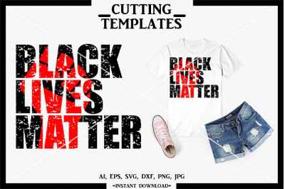 BLM SVG, Black Lives Matter, Silhouette, Cricut, Cameo, SVG