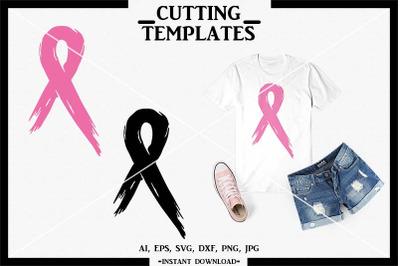 Awareness Ribbon SVG, Silhouette, Cricut, Cameo, SVG