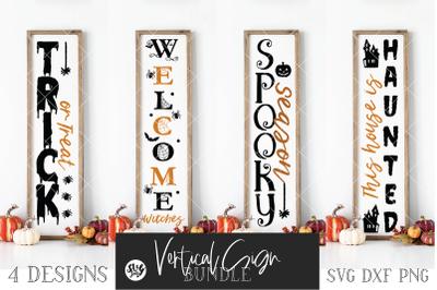 Halloween Vertical Sign Bundle Vol. 3