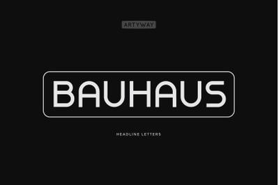 Bauhaus Headline Font