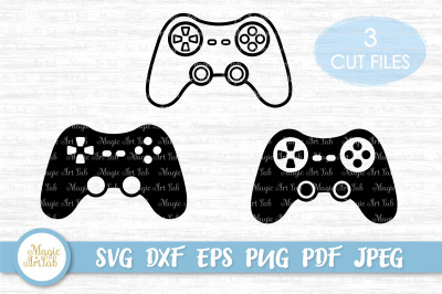 Game controller svg, Gaming svg file, Video game controller cut file