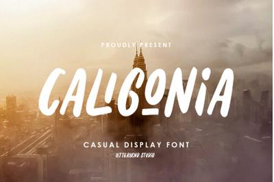 Caligonia - Casual Display Typeface