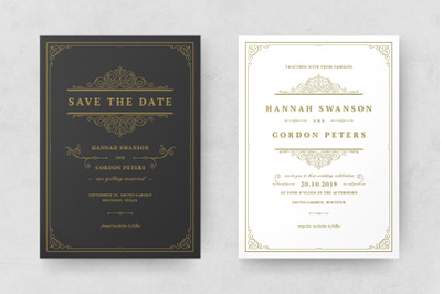 Wedding Invitations Cards Templates