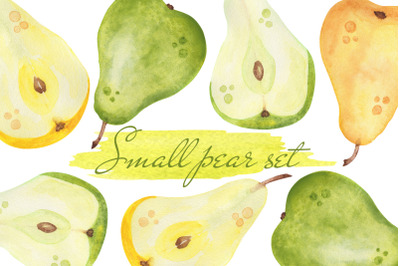 Small  pear set