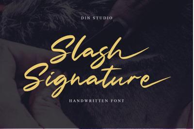 Slash Signature