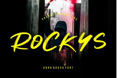 Rockys Handbrush