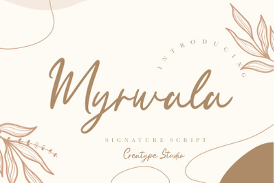 Myrwala Signature Script