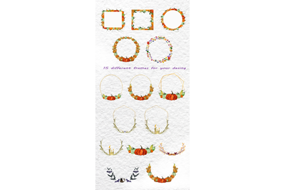 frames on the theme of halloween for your invitations, cards