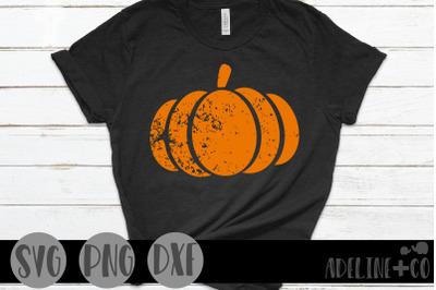 Destressed pumpkin, SVG, PNG, DXF