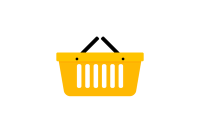 Basket shopping icon