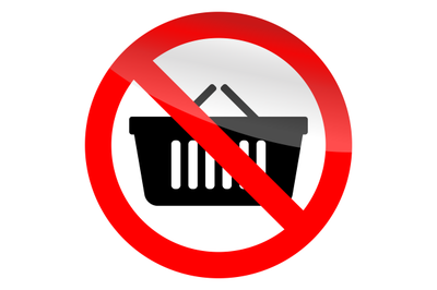 No cart shop