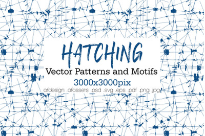 HATCHING - Vector Patterns and Motifs