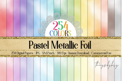 254 Pastel Foil Metallic Magical Fairy Princess Papers