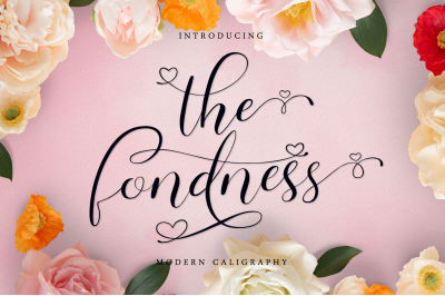 the fondness - modern caligraphy