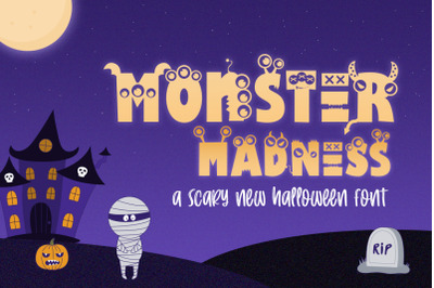 Monster Madness Font