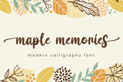 Maple Memories