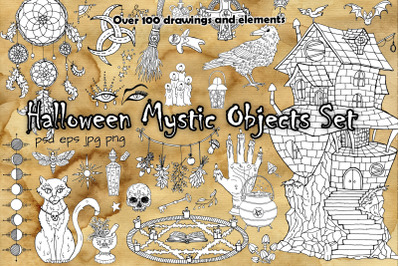 Halloween Mystic Objects