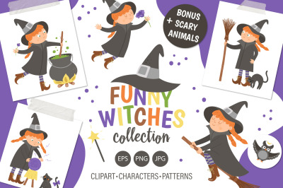 Funny Witches Collection