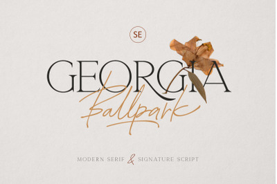 Georgia Ballpark - FONT DUO