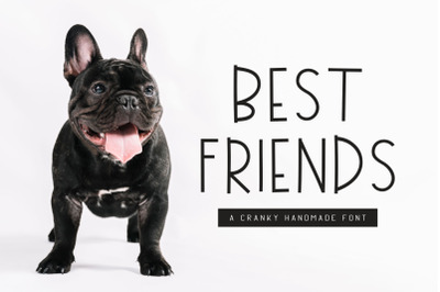 Best Friends Handmade Font