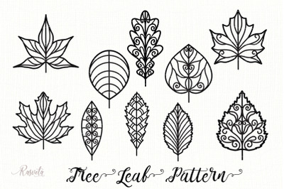 Tree Leaf Pattern Collection