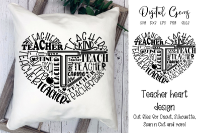 Teacher typography design