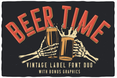 Beer Time Label Font