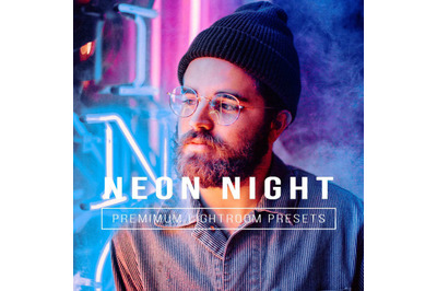 Neon Night Presets  Mobile & Desktop Lightroom Presets