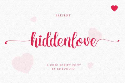 hidden love script