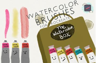 The Procreate Watercolor Box