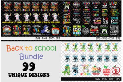 99 Back to school Bundle SVG, Back to school SVG, bundle svg