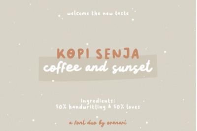 Kopi Senja Font Duo