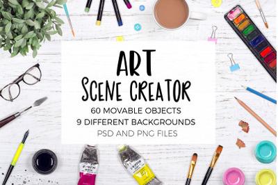 Art Scene Creator Top View