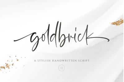 Goldbrick - Modern Stylish Script
