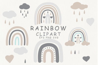 Rainbow baby svg. Cloud