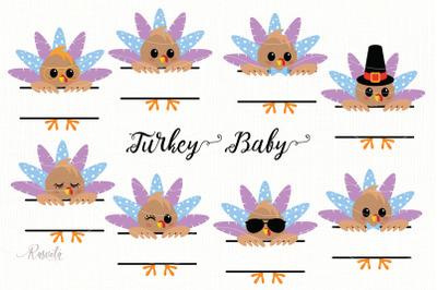 Thanksgiving Peeking Turkey